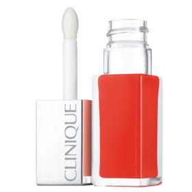 Pop Lacquer Lip Colour + Primer Clinique - Batom Líquido - Happy Pop