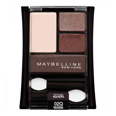 Expert Wear Quad Maybelline - Paleta de Sombras - Natural Smokes
