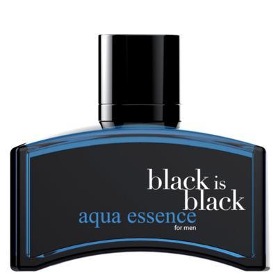 Imagem 1 do produto Black is Black Aqua Essence Nu Parfums - Perfume Masculino - Eau de Toilette - 100ml