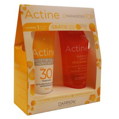 Darrow Actine - Sabonete Líquido + Protetor Solar Hidratante - Kit