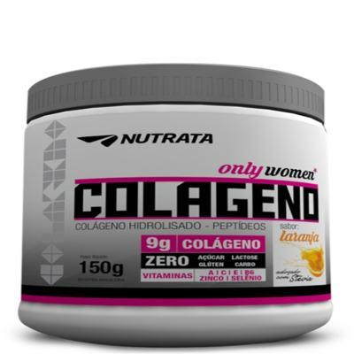 Imagem 1 do produto Colageno Peptideos Only Women 300g - Nutrata - Laranja