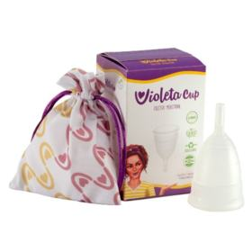 Coletor Menstrual Tipo B (-30 anos ou sem filhos) Violeta Cup - Cuidados Íntimos - 1 Un