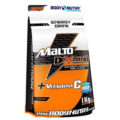 Malto+Vit C 1Kg - Body Nutry - Limão