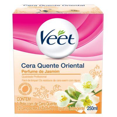 Cera Quente Oriental Jasmine Veet - Depilação - 250ml