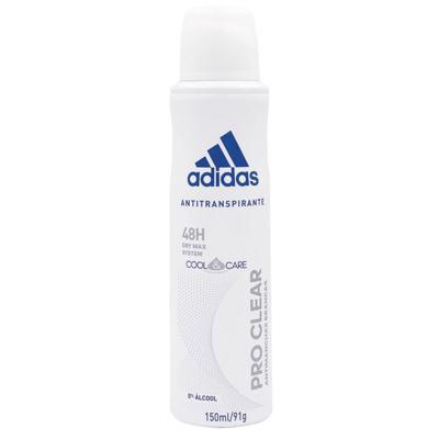 Imagem 1 do produto Pro Clear Aerosol Adidas - Desodorante Feminino - 150ml