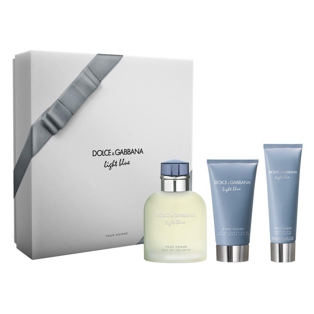 b8fdfe53e8c19 Dolce Gabbana Light Blue Homme Kit - Eau de Toilette + Gel de Banho +  Pós-Barba Kit - Farmácias APP - Ofertas de farmácias, drogarias e  suplementos online.
