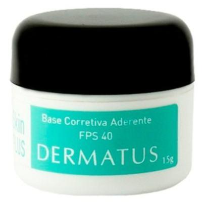 Imagem 1 do produto Skin Plus Base Corretiva Aderente FPS 40 Dermatus - Base Facial Corretiva - Cor A