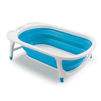 Imagem 1 do produto Banheira Dobrável Flexi Bath Azul Multikids Baby - BB172 - BB172