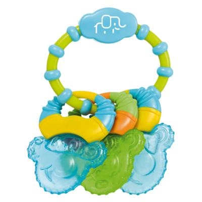 Mordedor Com Gel Cool Rings Azul Multikids Baby - BB150 - BB150