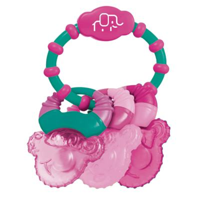 Mordedor Com Gel Cool Rings Rosa Multikids Baby - BB167 - BB167
