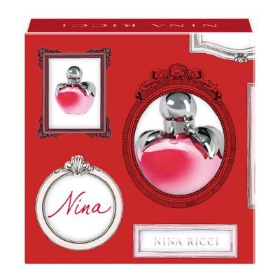 Imagem 1 do produto Nina Valentine Nina Ricci - Feminino - Eau de Toilette - Perfume + Miniatura - Kit