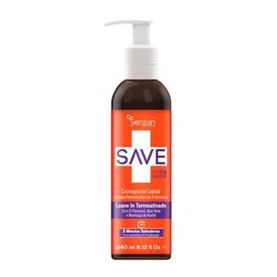 Imagem 3 do produto Kit Shampoo + Condicionador + Creme de Pentear + Máscara Yenzah Save Cronograma Capilar - Kit
