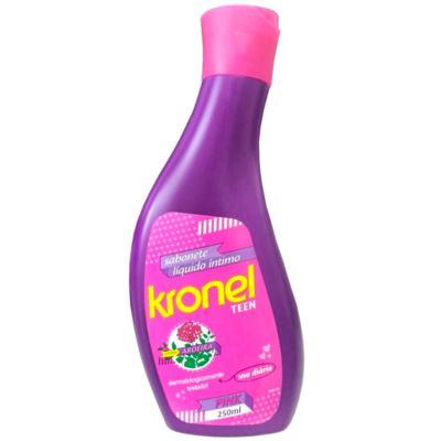 Sabonete Líquido Íntimo Kronel Teen Pink 250ml