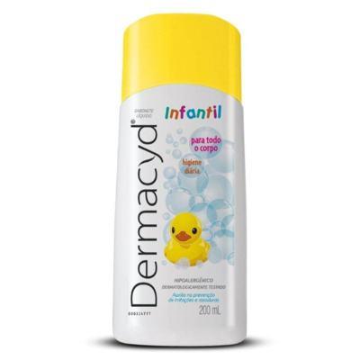 Sabonete Líquido Íntimo Dermacyd Infantil 200ml