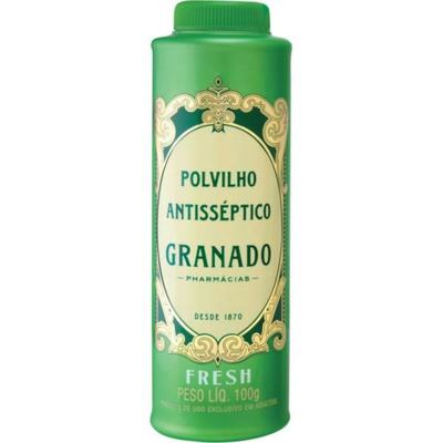 Imagem 1 do produto Talco Antisséptico Granado Fresh 100g -