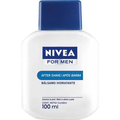 Imagem 1 do produto Pós Barba Nivea Loção Balsamo Hidratante 100ml