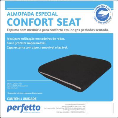 Imagem 4 do produto ALMOFADA CONFORT SEAT PRETO PERFETTO
