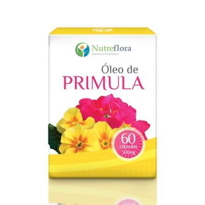 Imagem 1 do produto Óleo de Prímula - 500 mg - 60 cápsulas - Nutreflora -