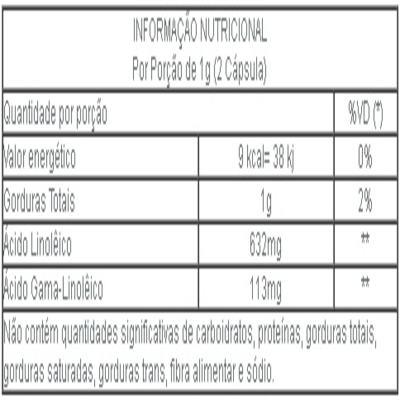 Imagem 3 do produto Óleo de Prímula - 500 mg - 60 cápsulas - Nutreflora -