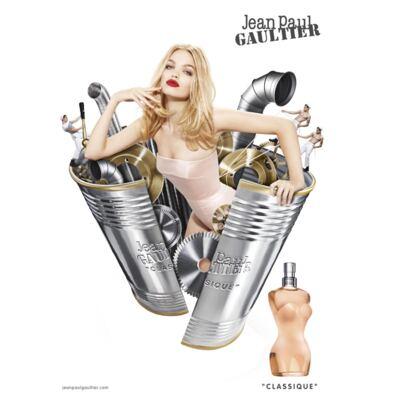 Imagem 5 do produto Classique Jean Paul Gaultier - Feminino - Eau de Toilette - Perfume + Loção Corporal - Kit