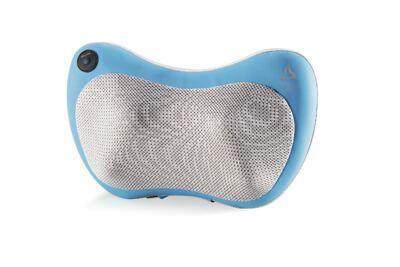 Imagem 1 do produto Encosto Massageador Multilaser Shiatsu Ultra Shiatsu Pillow (Azul) Bivolt - HC018 - HC018