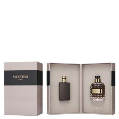 Imagem 1 do produto Valentino Uomo Valentino - Masculino - Eau de Toilette - Perfume + Loção Pós Barba - kit