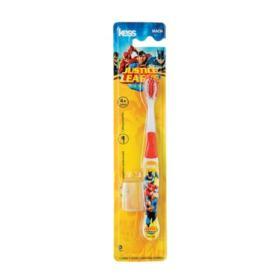 Escova Dental Kess Liga da Justiça Macia com Capa Protetora