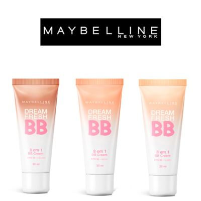 Imagem 4 do produto Dream Fresh BB Cream 30ml Maybelline - Base Facial - Claro