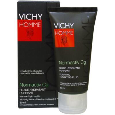Imagem 1 do produto Normactiv Cg Vichy - Hidratante para Peles Masculinas Oleosas - 50ml