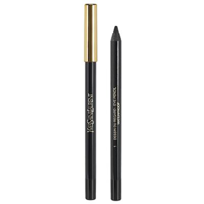 Imagem 1 do produto Dessin Du Regard Waterproof Yves Saint Laurent - Lápis para Olhos - 02 - Patent Leather