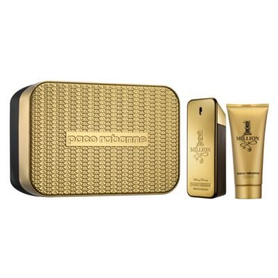 1 Million Paco Rabanne - Masculino - Eau de Toilette - Perfume + Gel de Banho - Kit