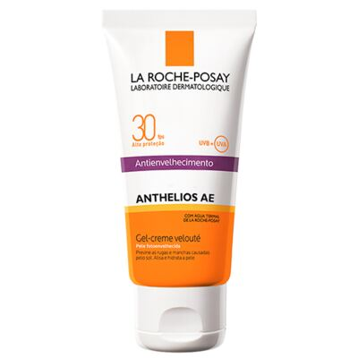 Anthelios Ae Gel-Creme Velouté Fps 30 La Roche Posay - Protetor Solar - 50g