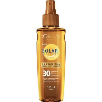 Protetor Solar L'Oréal Paris Solar Expertise Oil Protection SPF 30 - 115ml