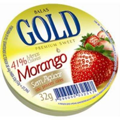 Balas Gold Sem Açúcar Mista 32g