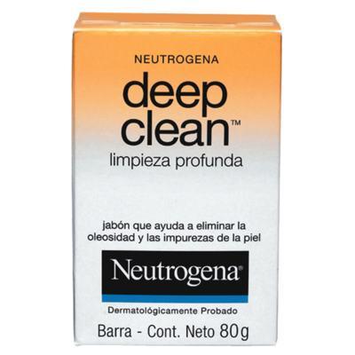 Imagem 1 do produto Deep Clean Limpeza Profunda Neutrogena - Sabonete Facial - 80g