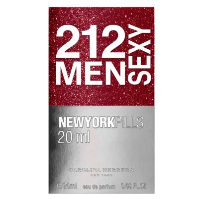 Imagem 3 do produto 212 Sexy Men Pills Carolina Herrera - Perfume Masculino - Eau de Toilette - 20ml