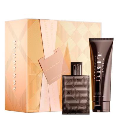 Brit Rhythm Burberry  - Masculino - Eau de Toilette - Perfume + Gel de Banho - Kit