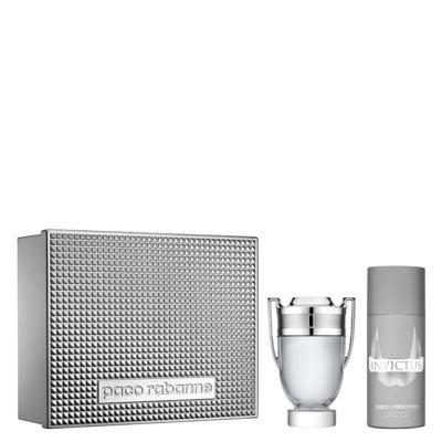 Imagem 1 do produto Invictus Paco Rabanne - Masculino - Eau de Toilette - Perfume + Desodorante - Kit