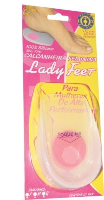 Imagem 3 do produto CALCANHEIRA FEMININA LADY FEET 1016 ORTHO PAUHER - G