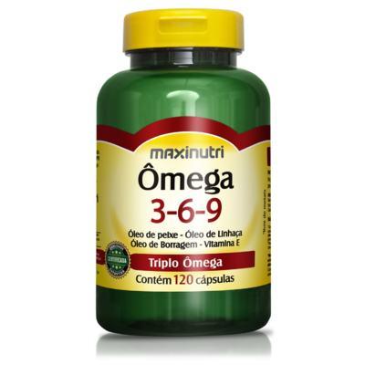 Imagem 1 do produto Ômega 3-6-9 120cps - Maxinutri - 120Cps