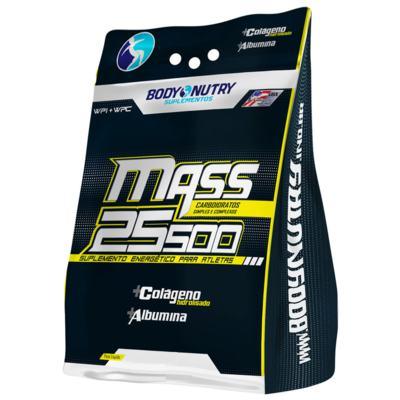 Mass 25500 + Creatina 1,5KG - Body Nutry - Morango