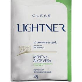 Pó Descolorante Cless Lightner - Menta e Aloe Vera | 50g