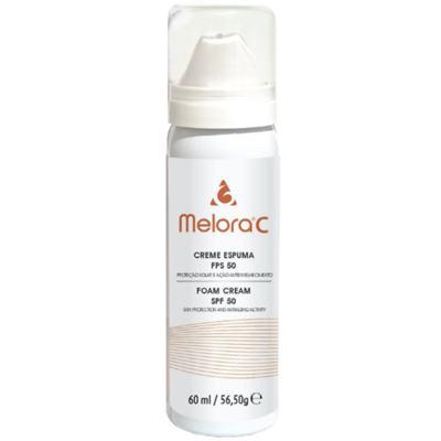 Melora C Creme Espuma Antienvelhecimento Fps 50 Melora - Creme Antienvelhecimento com Fps 50 - 60ml