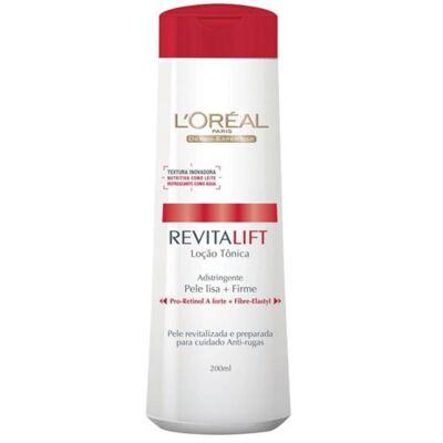 Tônico Facial L'Oréal Paris Adstringente Revitalift - 200ml