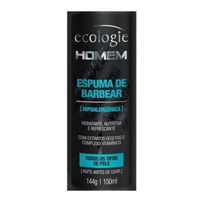 Imagem 2 do produto Ecologie Homem Espuma de Barbear Ecologie - Espuma de Barbear - 150ml