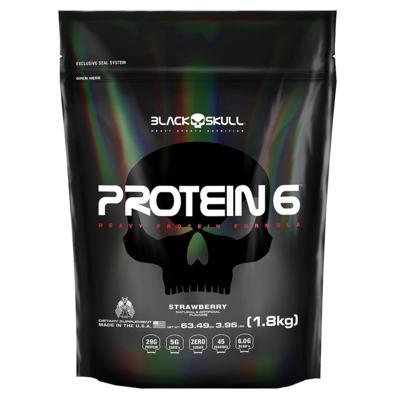 Imagem 1 do produto Protein 6 1.8kg Chocolate Black Skull
