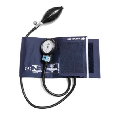Imagem 1 do produto Kit Esteto Spirit Master Pro Azul com Aparelho de Pressão Bic Azul