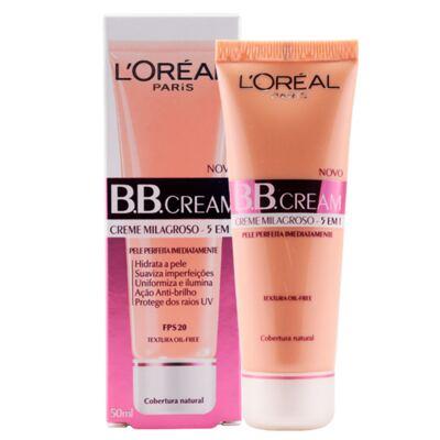 Imagem 4 do produto BB Cream 5 em 1 SPF20 50ml L'oréal Paris - Base - Médio