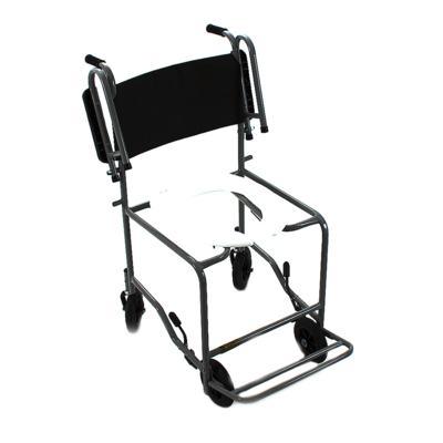 Imagem 1 do produto Cadeira de Banho com Braço Escamoteável Preta 201 CDS