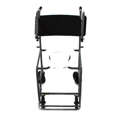 Imagem 2 do produto Cadeira de Banho com Braço Escamoteável Preta 201 CDS